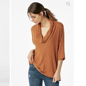 0cda28a3c89 JustFab Tops - Oversized cowl neck top